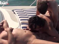 Picture Fat Granny Gangbanged on the boat