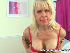 Picture British gilf Lady Sextasy continues her mast...