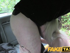 Picture FakeTaxi Anal butt plug followed by big cock
