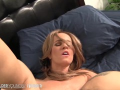 Picture Pigtailed Young Girl 18+ has Sexy Fun with M...