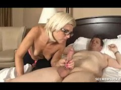 Picture Milf Sneaks Into Young Mans Bedroom Late At...