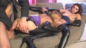 lingerie anal