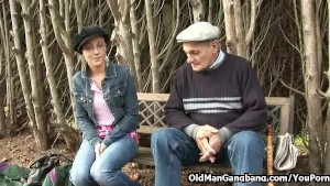 grandpa gangbang
