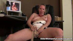 woman masturbating watching porn