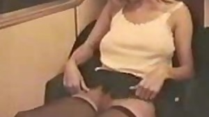Upskirt in the train