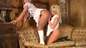 Two hooter lezzies get it on- Pt. 4/4