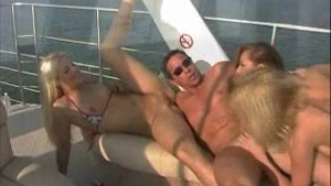 Peter North - Group fuck at the boat