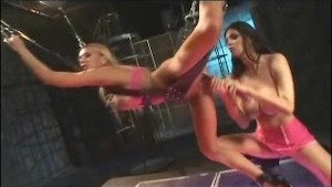 Tera Patrick - Lesbian bondage Extreme