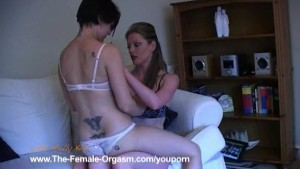 Real Lesbian Orgasms with Emma C.
