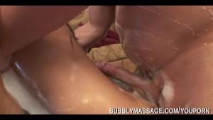 Pornstar Gives Soapy Bubbly Massage