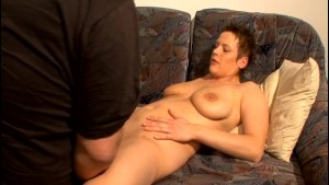 Horny Housewife Eats Couch Potato