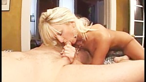 Busty Blonde Fucks For Messy Creampie