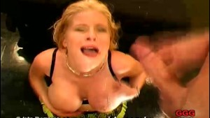 Hot German Mom Swallows Semen