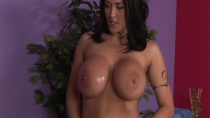 "Carmella Bing in ""Oily Boob Massage"" p.1"
