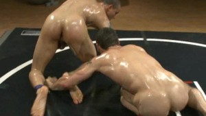 oiled up and ready to take the dick – Gay Porn Video