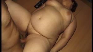 Big woman gets a big dick