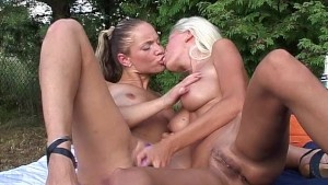 Hot Polish girls in action