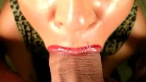 She Swallows His Semen!