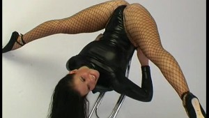 Samantha flexible strip in nylon and latex