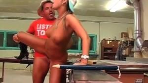 Sex in Cuban Factory!
