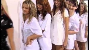 8 horny Nurses fucking a Patient!