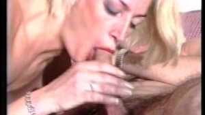 Talented Blonde Sucks Dick and Plays with herself