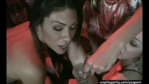 Cassandra Is Partying It Up With A Big Cock