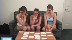 Hotties playing Strip Memory