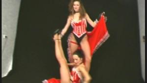 flexible lesbian western dance