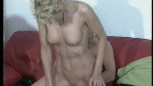 Hot couple fuck infront of int