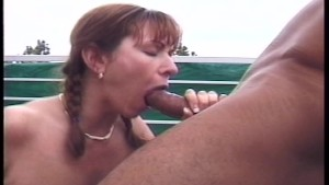 Jerking off right into her mou
