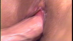 Wet pussy and a hot cock makes