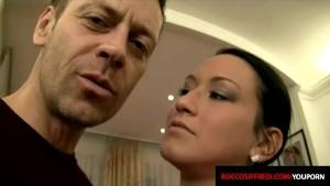 Italian Girl Gets A Dose Of Hard Cock