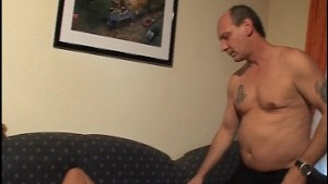 Mature couple gets busy