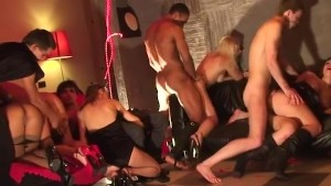 Crazy Girls dance naked and st