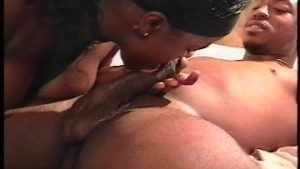 Black couple in a fucking mood