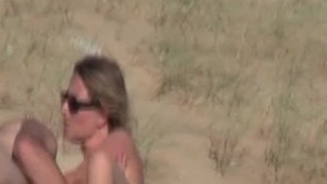 Nudist beach tease