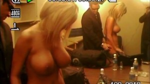 Penthouse Pet stripped backstage reality TV