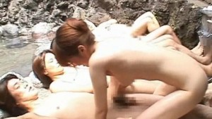 Japanese AV Model in a piss vi