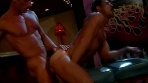 Exciting classic gay porn clip
