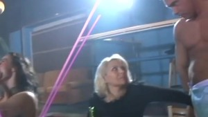 Milf and Coed suck strippers c