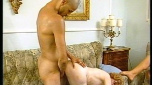 Two vintage milfs sharing a cock - Julia Reaves