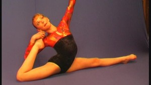 Flexi Ballerina Anja stretching (clip)