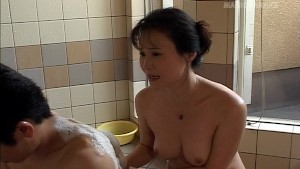 Asian Babe Sucking Cock