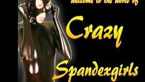 Flexible spandexgirl Masha (clip)