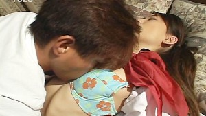 Asian schoolgirl submits to horny guy