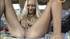 Cute skinny blonde gets nailed - Punami Films