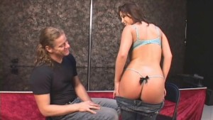 Dreamy Coed s Sexy Audition