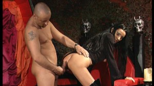 Raven vampire goddess fucked by manservant - DBM Video
