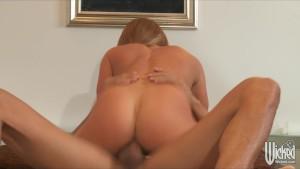 Sexy Blonde busty pornstar Nik